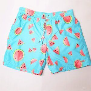 Maui and Sons Men's Watermelon Board Shorts